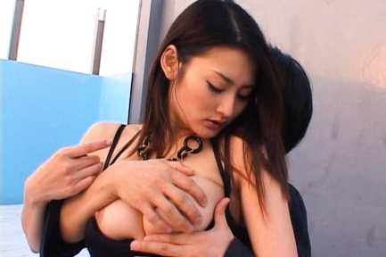 Risa Murakami  is a sweet Asian babe hot sex